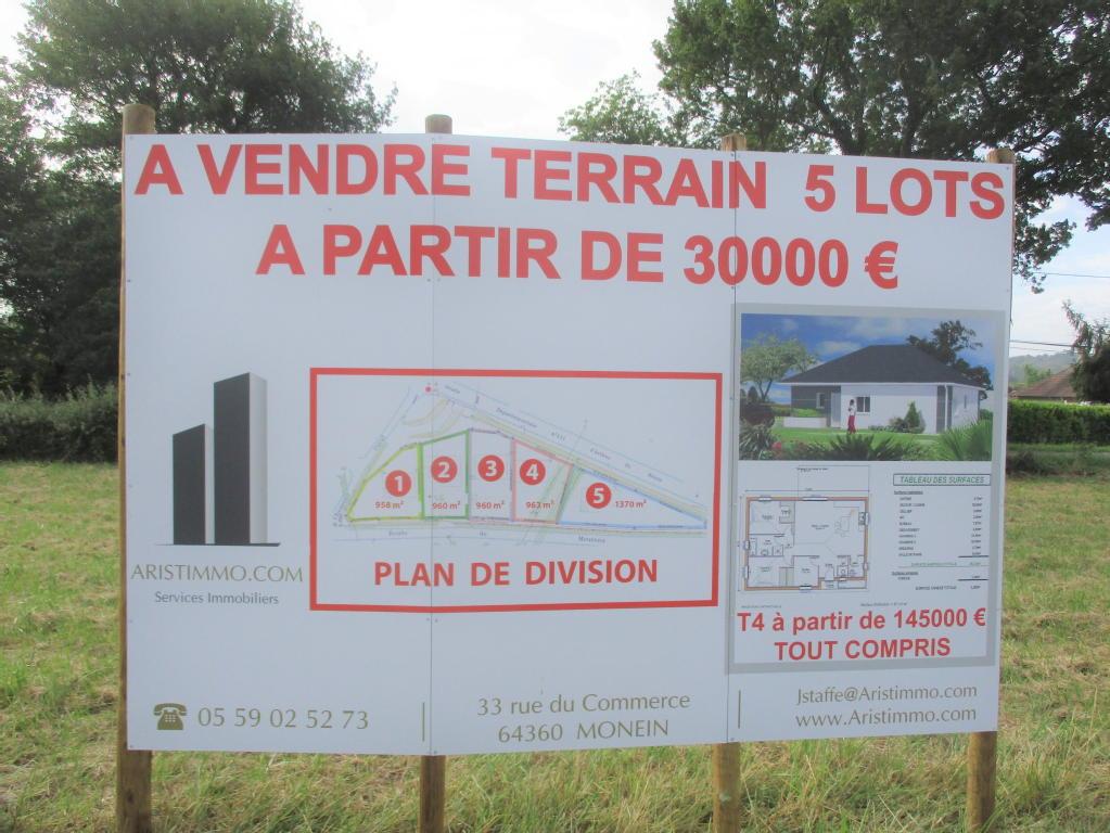 Terrains du constructeur ARISTIMMO • 1370 m² • NAVARRENX