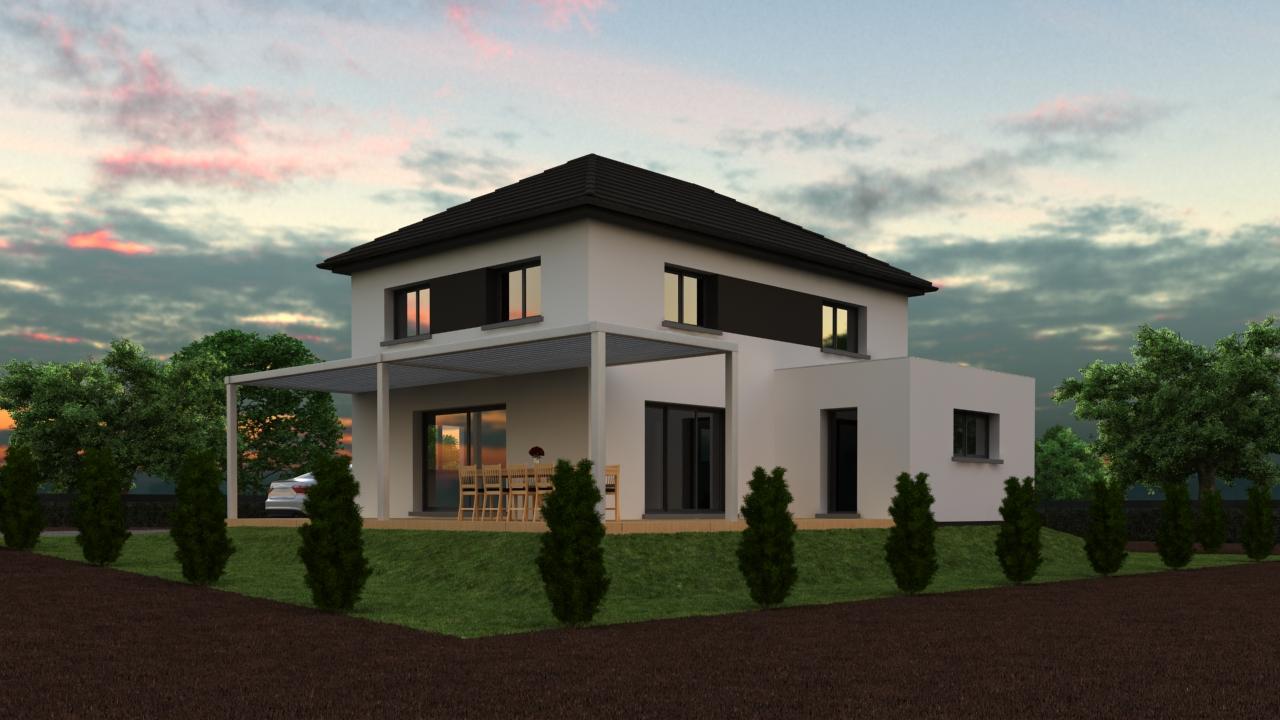 Maisons du constructeur CREAGES • 150 m² • LEYMEN