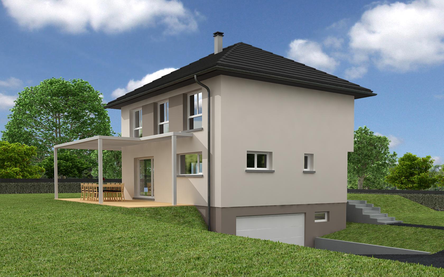 Terrains du constructeur CREAGES • 457 m² • HAGENTHAL LE HAUT