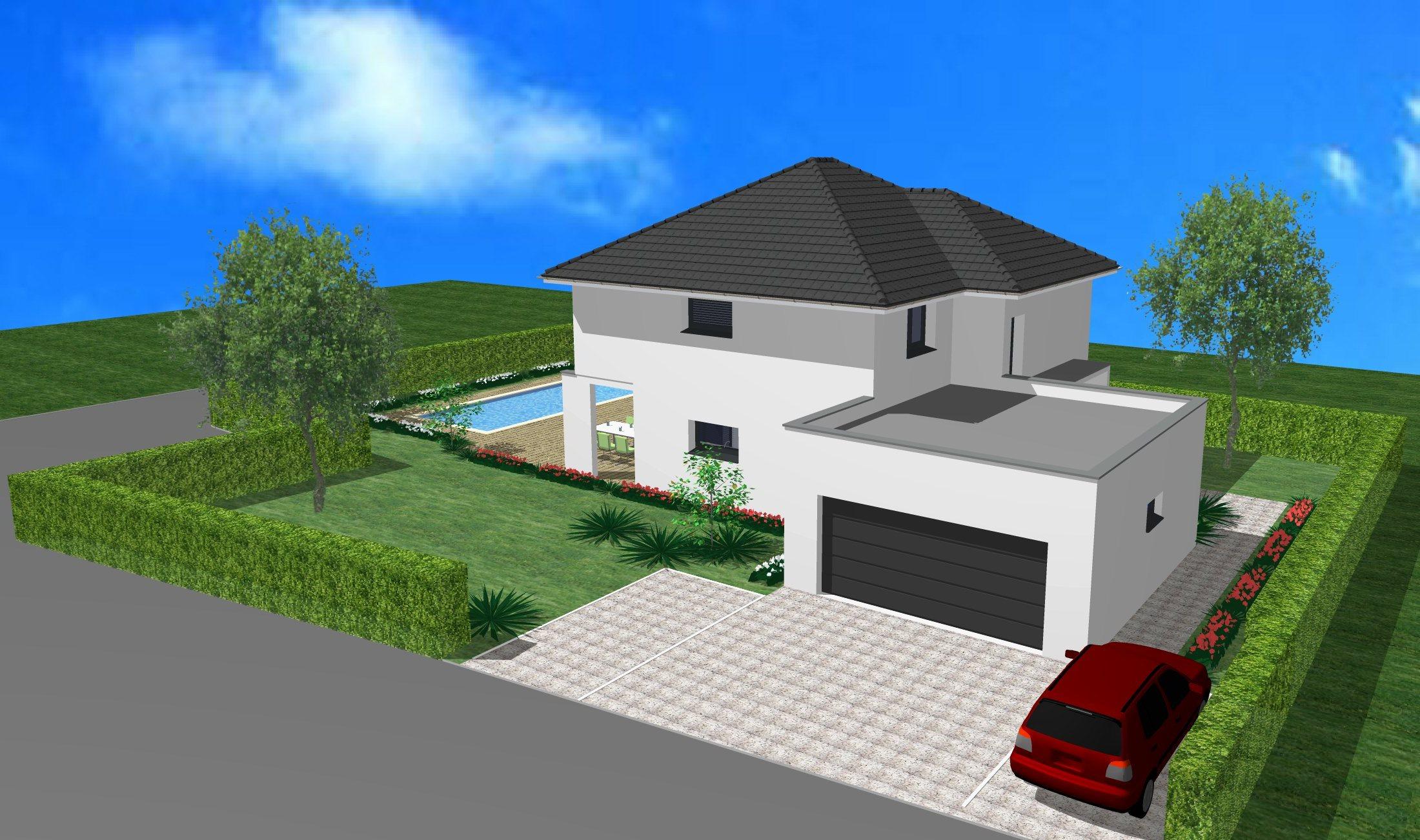 Maisons du constructeur CREAGES • 145 m² • KEMBS
