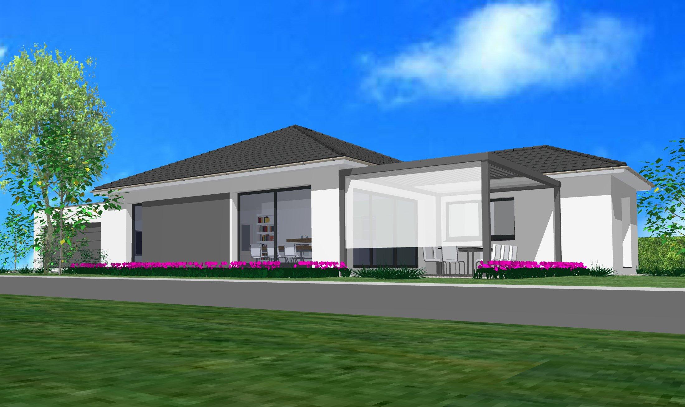 Maisons du constructeur CREAGES • 120 m² • HOCHSTATT