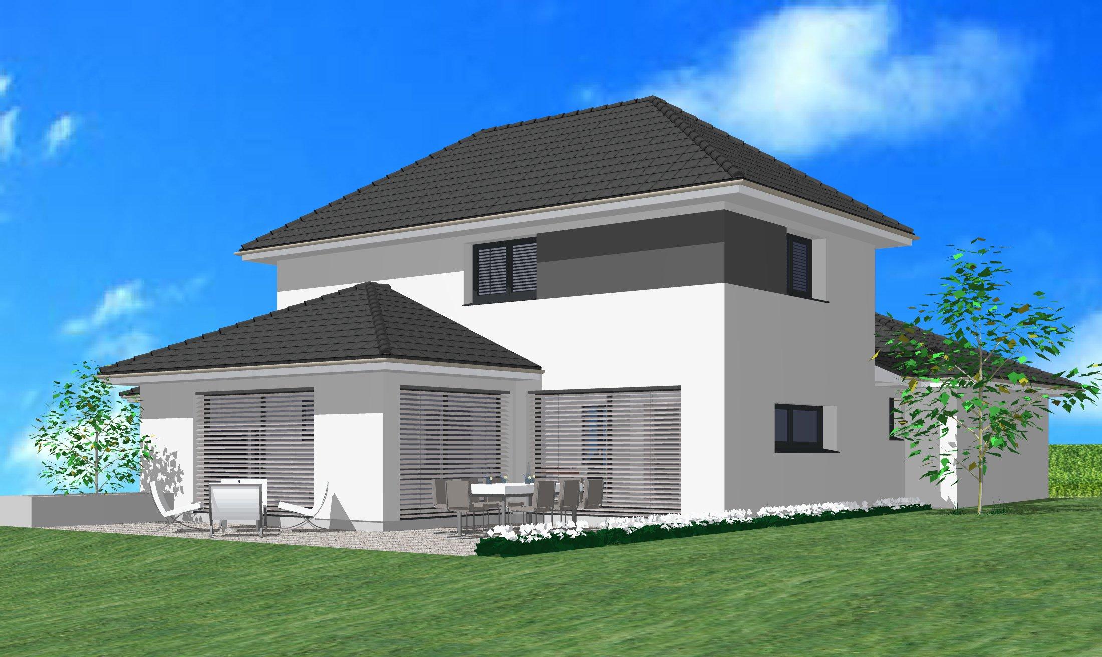 Maisons du constructeur CREAGES • 180 m² • WENTZWILLER