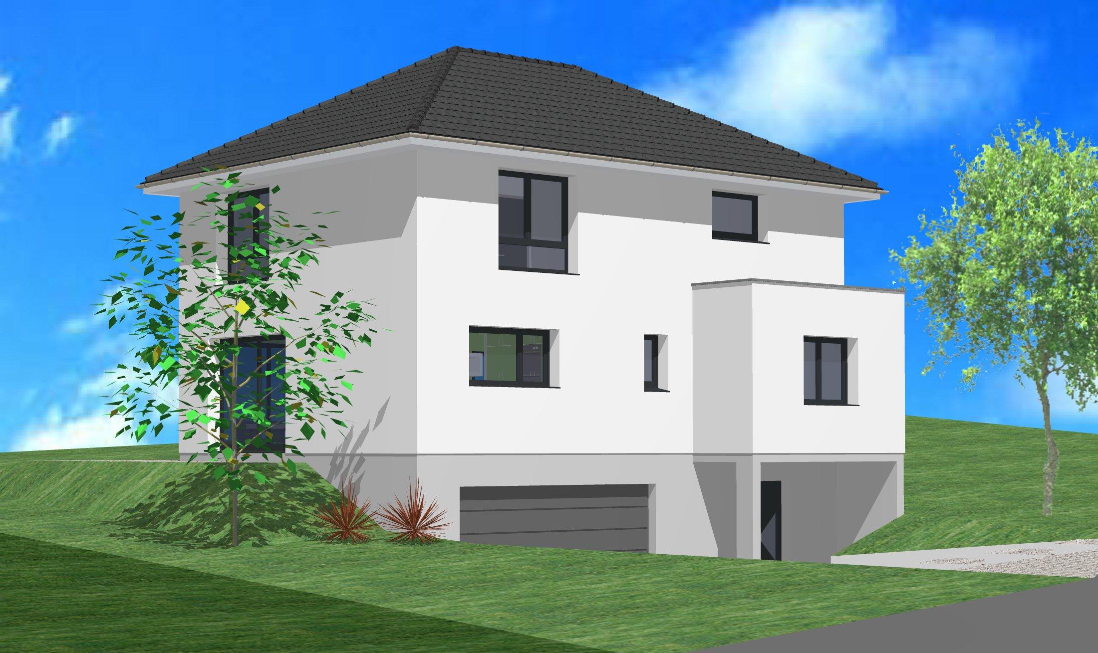 Terrains du constructeur CREAGES • 569 m² • HAGENTHAL LE HAUT
