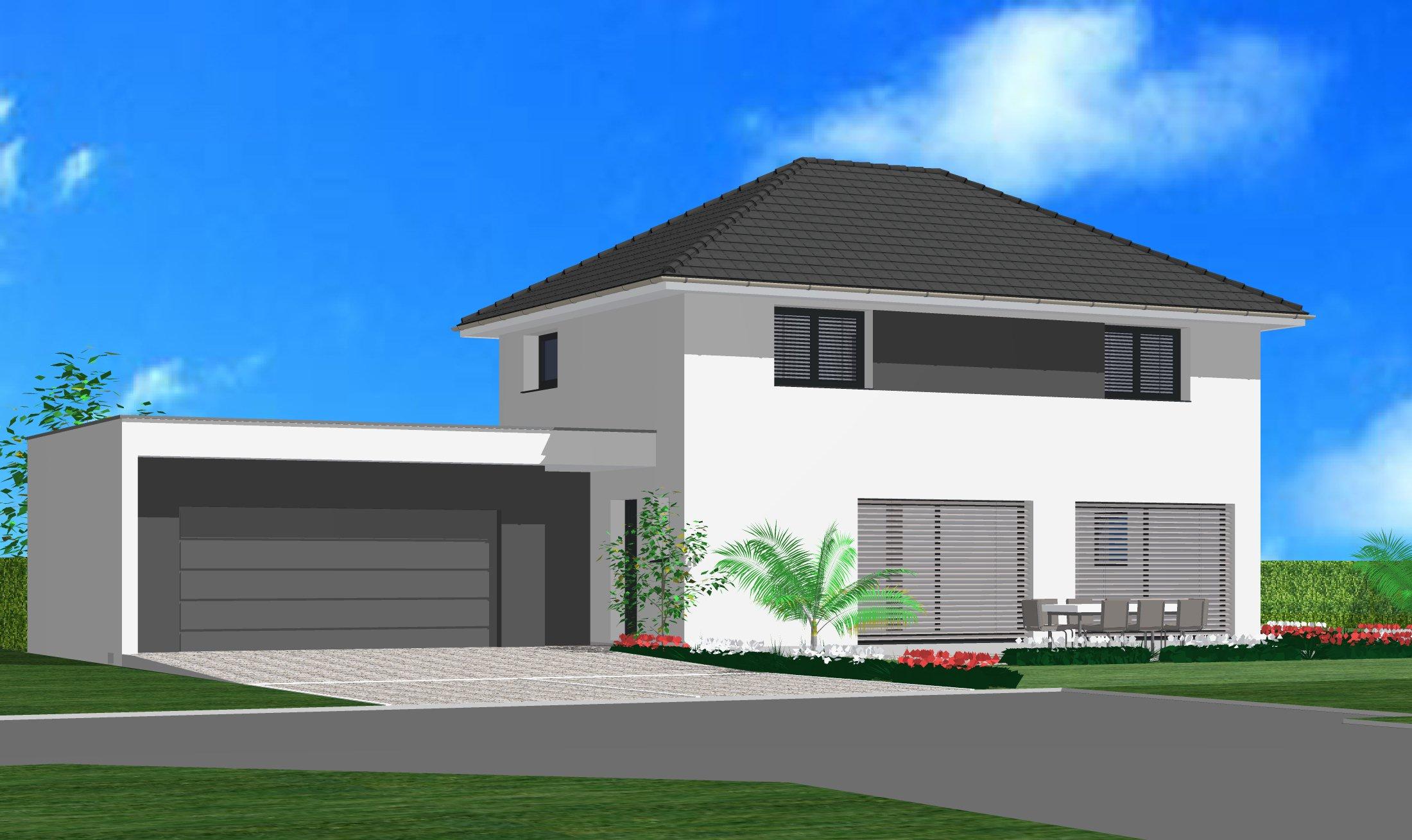 Maisons du constructeur CREAGES • 130 m² • ROSENAU
