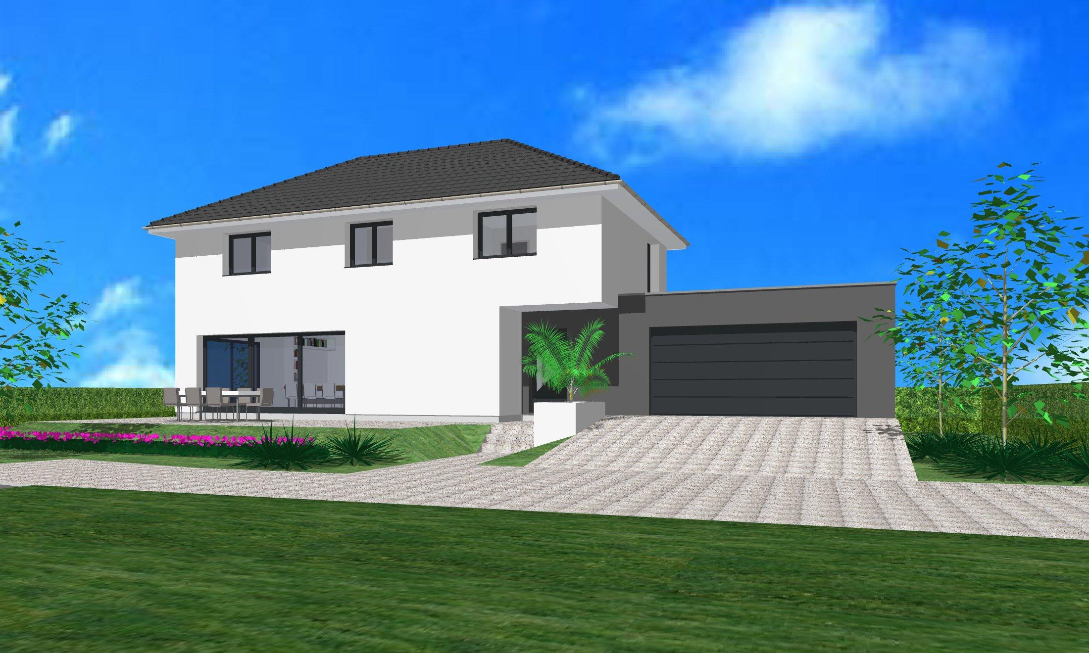 Maisons du constructeur CREAGES • 120 m² • KEMBS LOECHLE