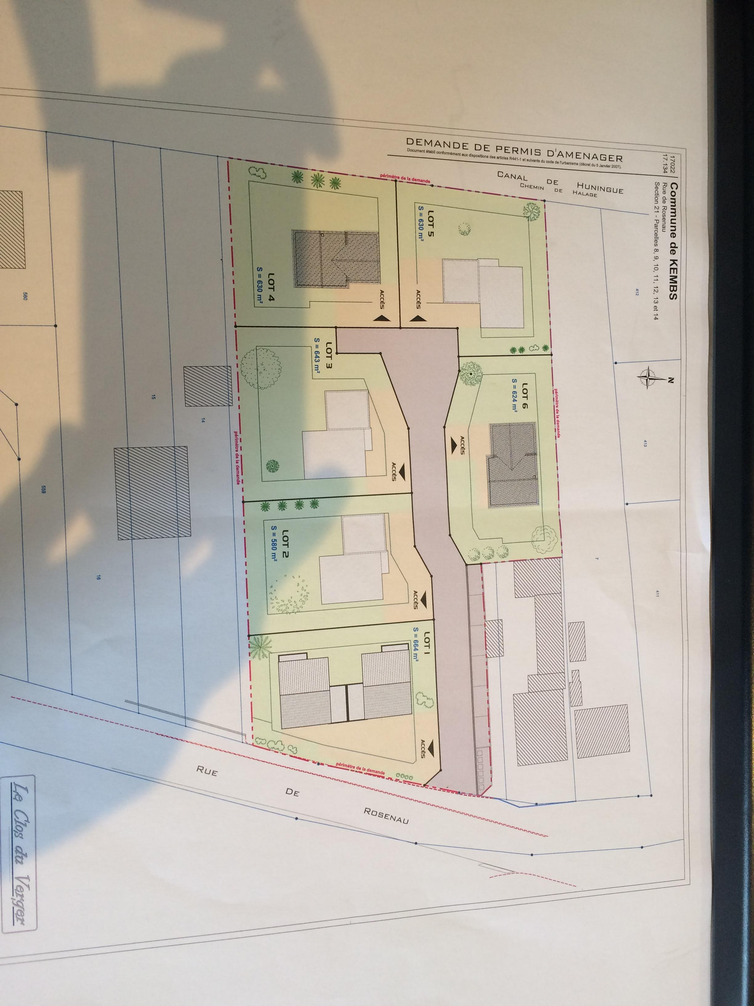 Terrains du constructeur CREAGES • 630 m² • KEMBS LOECHLE