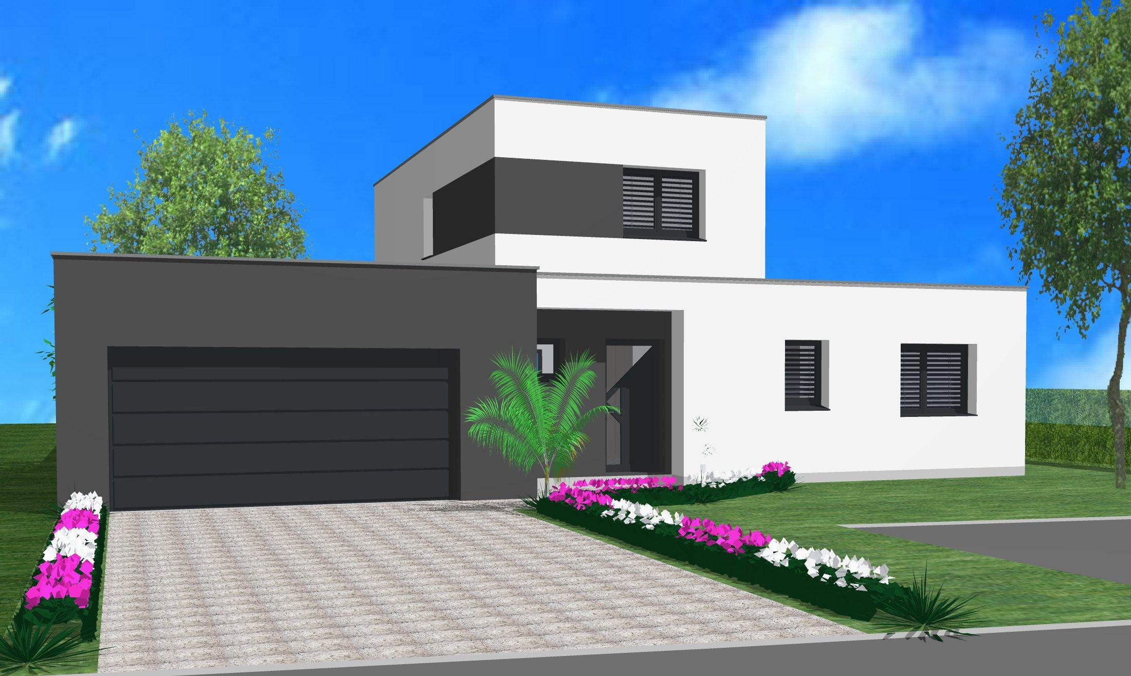 Maisons du constructeur CREAGES • 130 m² • KEMBS