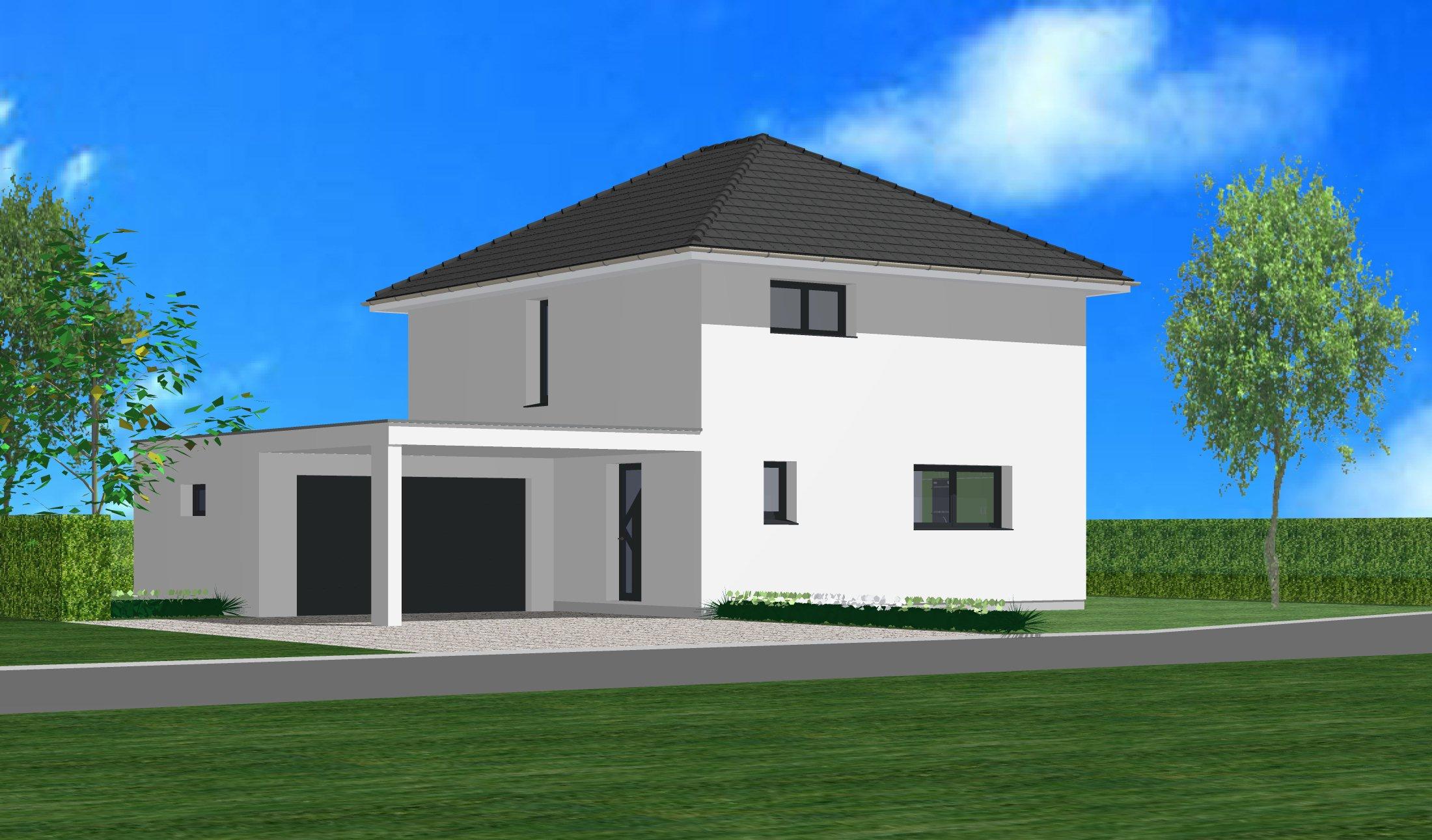 Maisons du constructeur CREAGES • 105 m² • KEMBS LOECHLE