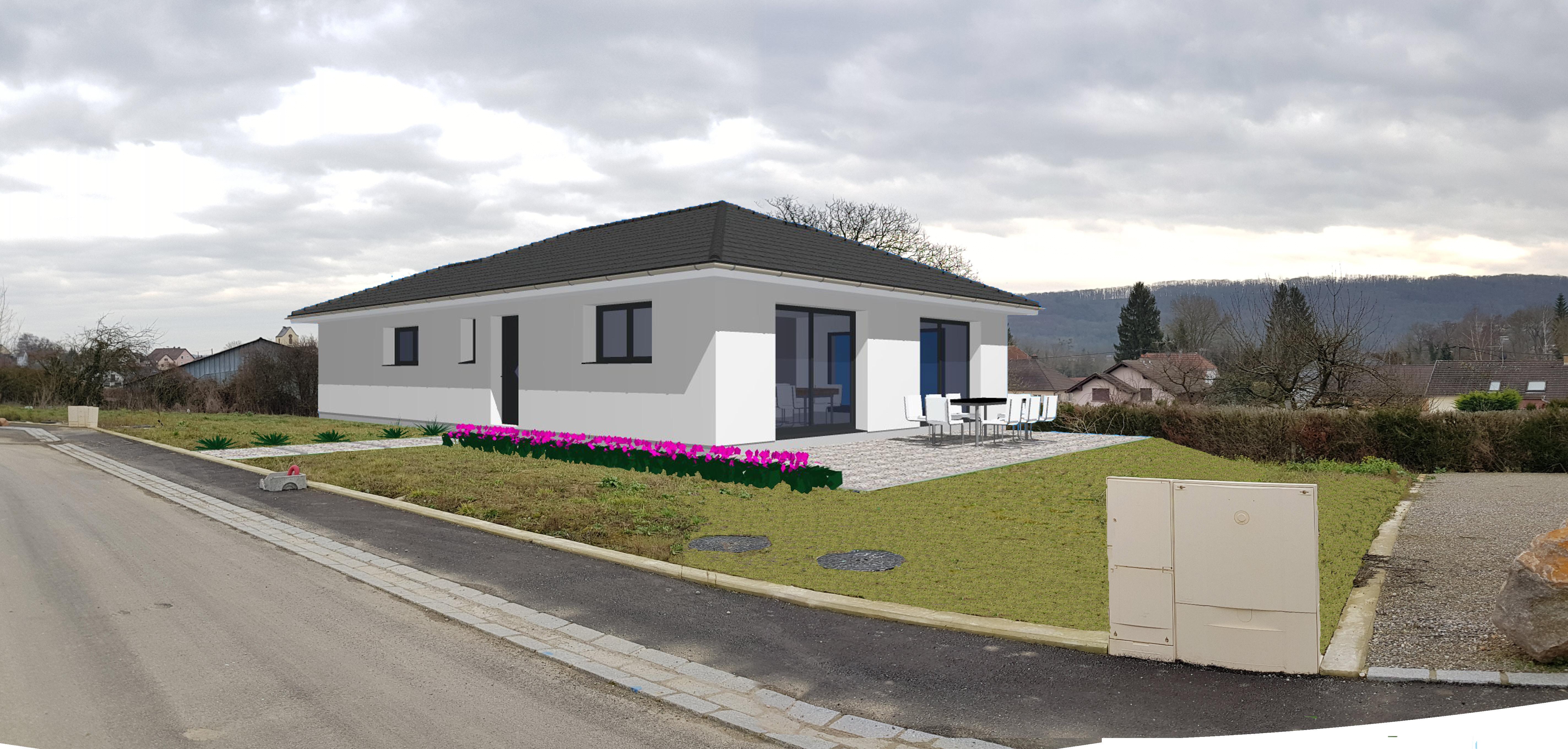 Maisons du constructeur CREAGES • 100 m² • BANTZENHEIM