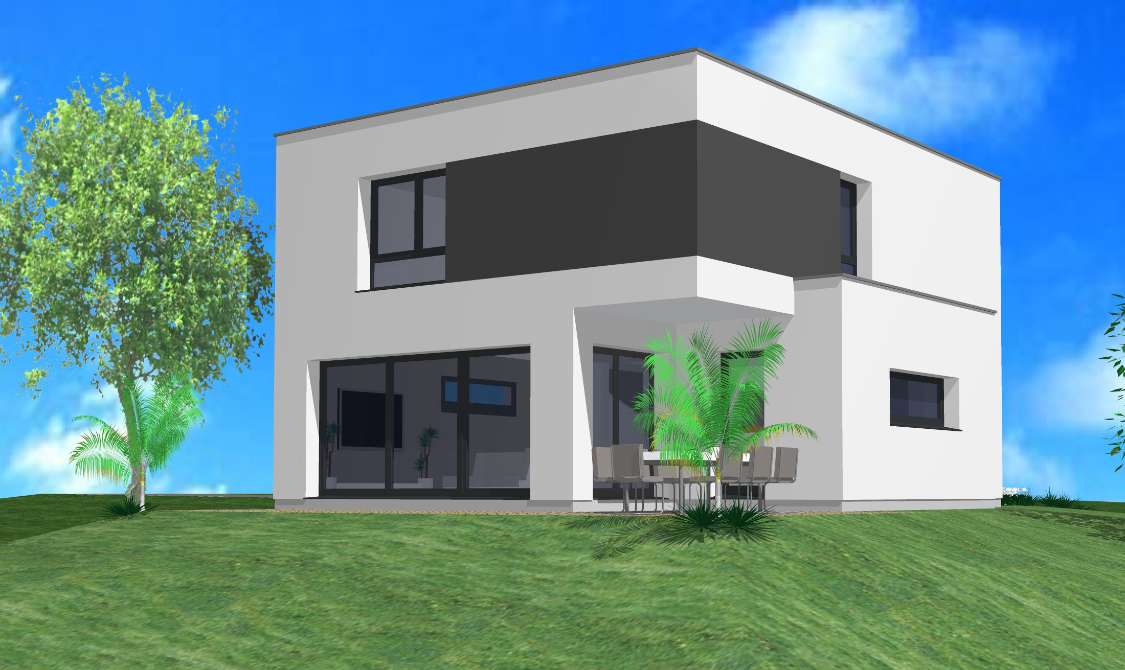 Maisons du constructeur CREAGES • 130 m² • MUESPACH LE HAUT