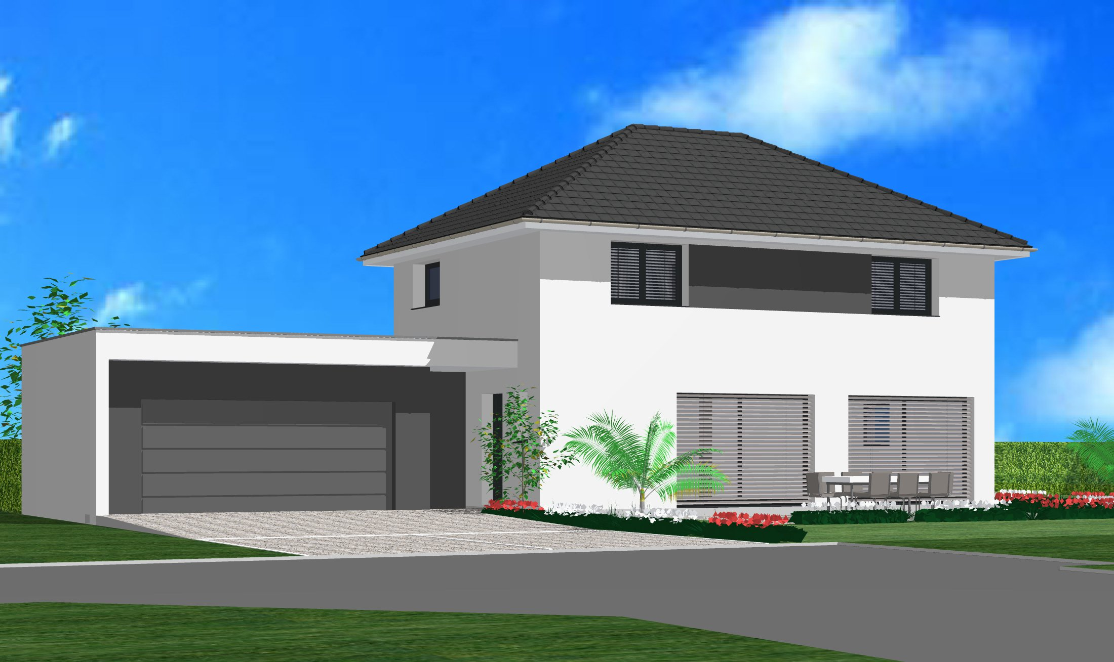 Maisons + Terrains du constructeur CREAGES • 120 m² • BLOTZHEIM