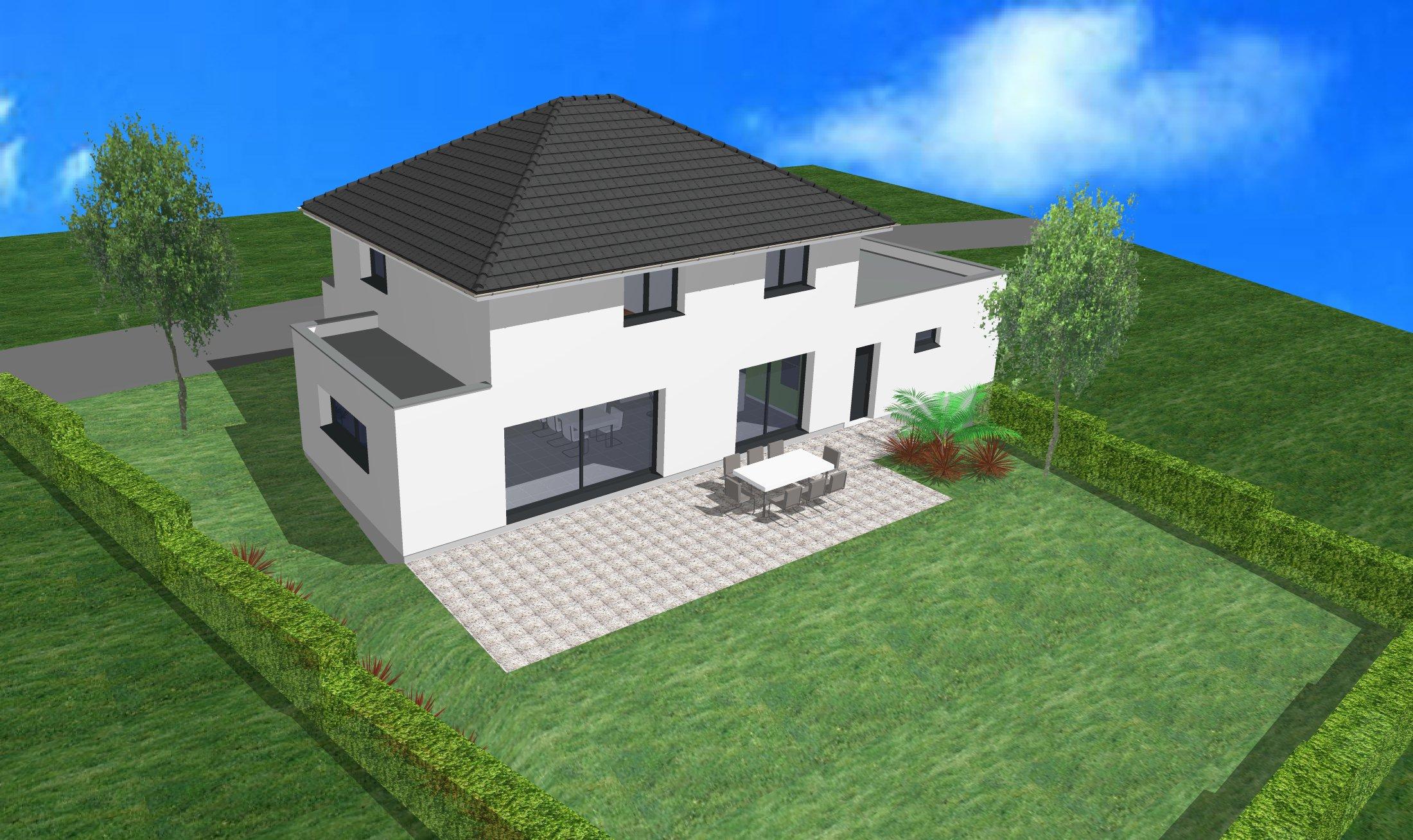 Maisons + Terrains du constructeur CREAGES • 130 m² • BLOTZHEIM