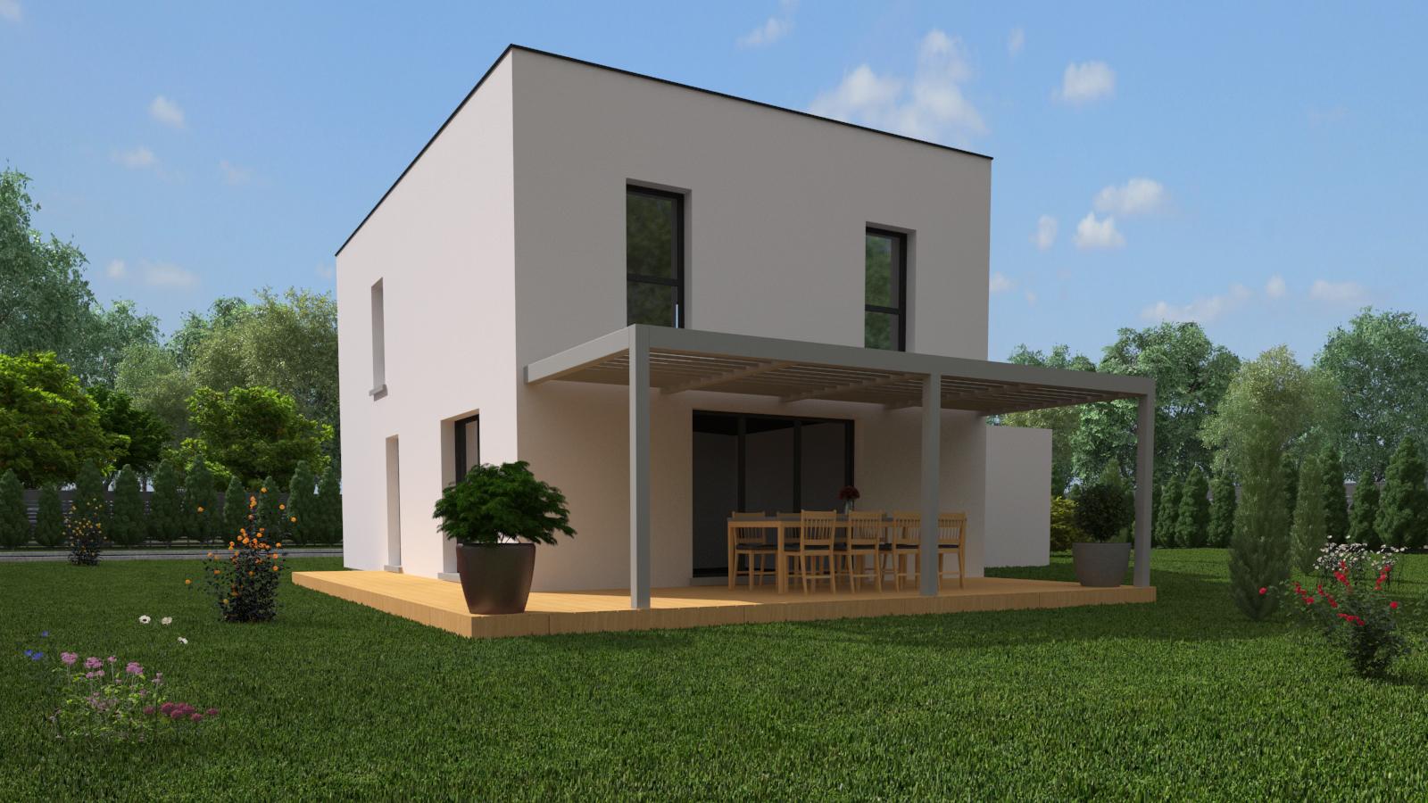 Maisons + Terrains du constructeur CREAGES • 100 m² • BLOTZHEIM
