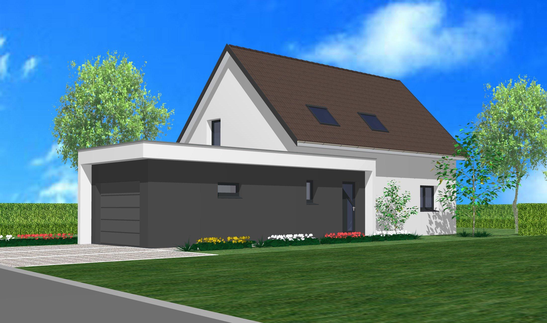 Maisons + Terrains du constructeur CREAGES • 110 m² • ROSENAU