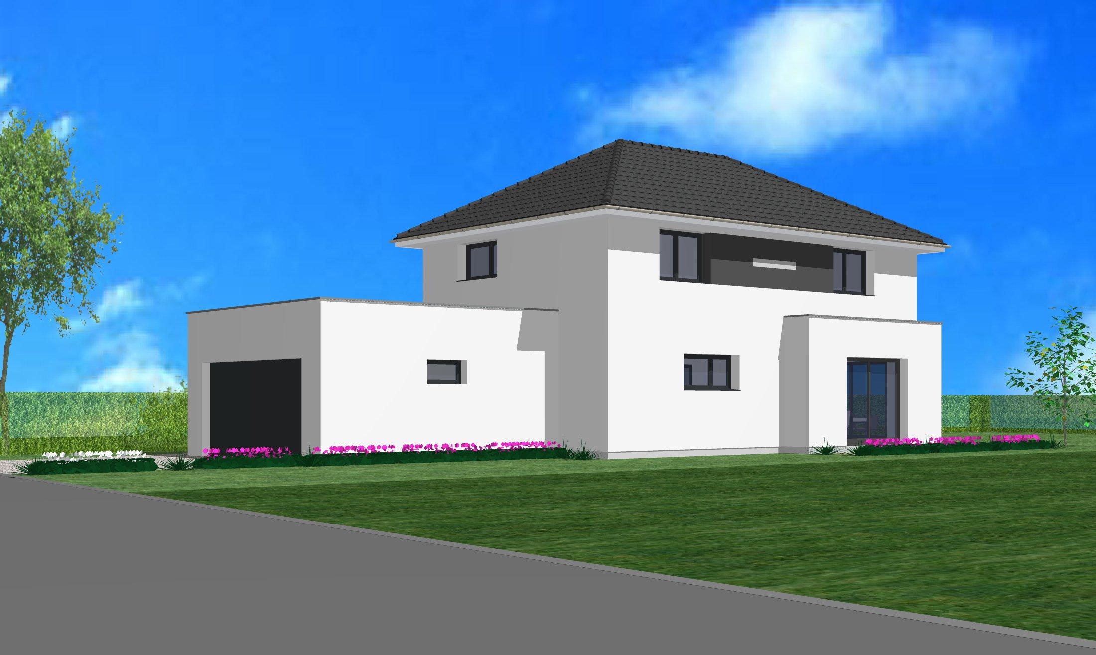 Maisons + Terrains du constructeur CREAGES • 105 m² • BANTZENHEIM