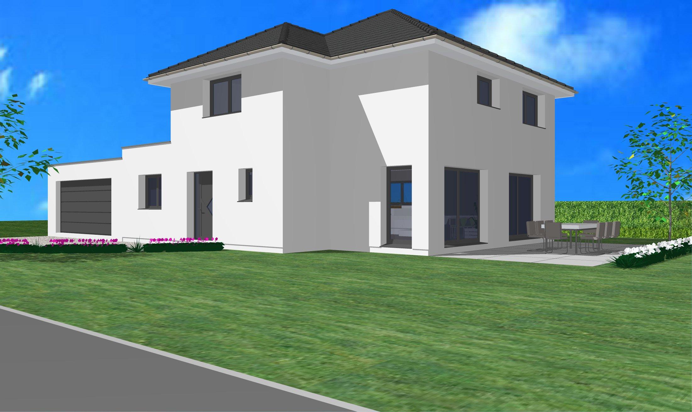Maisons + Terrains du constructeur CREAGES • 130 m² • ROSENAU