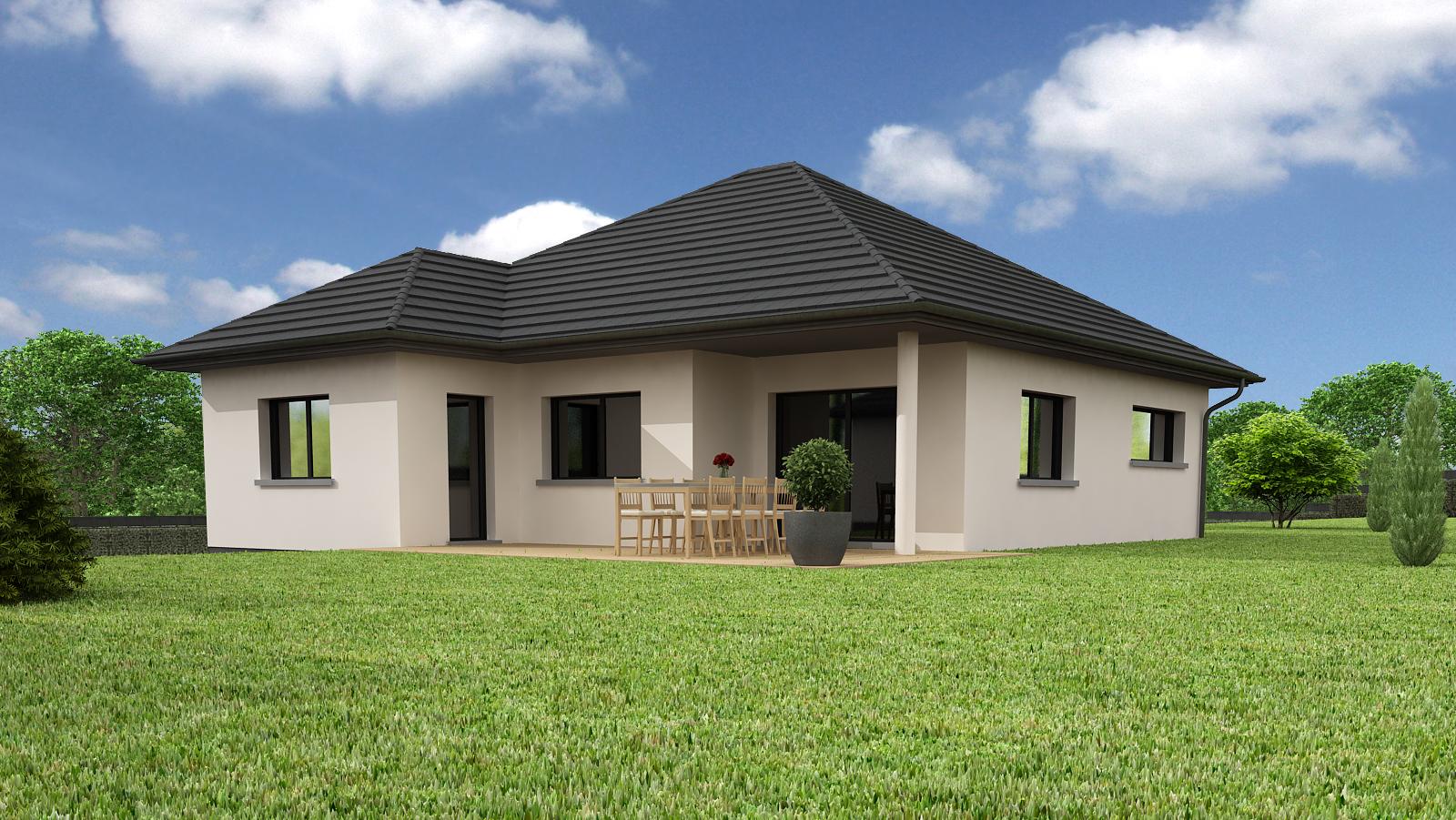 Maisons + Terrains du constructeur CREAGES • 100 m² • GUEBWILLER