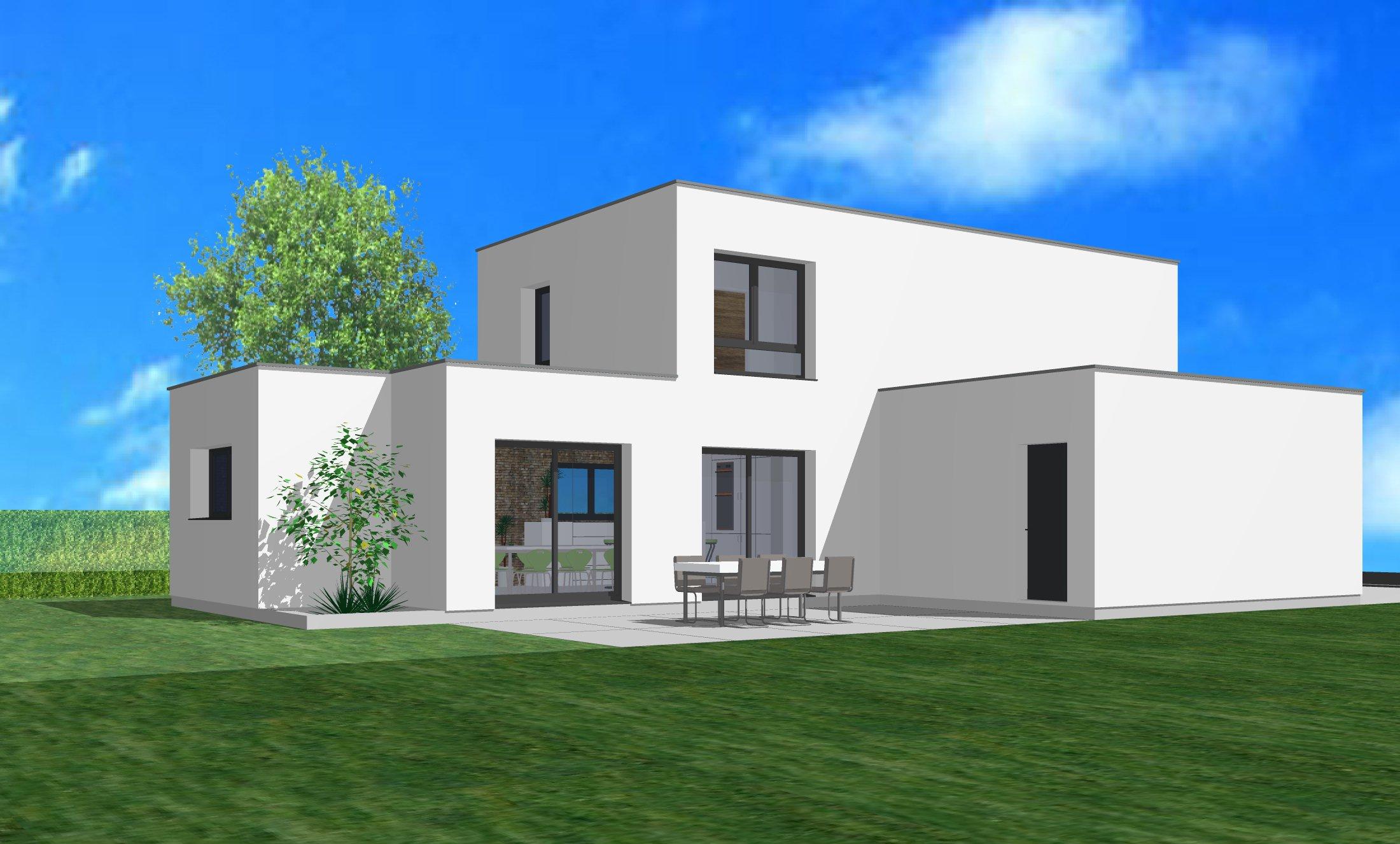 Maisons + Terrains du constructeur CREAGES • 130 m² • RIEDISHEIM