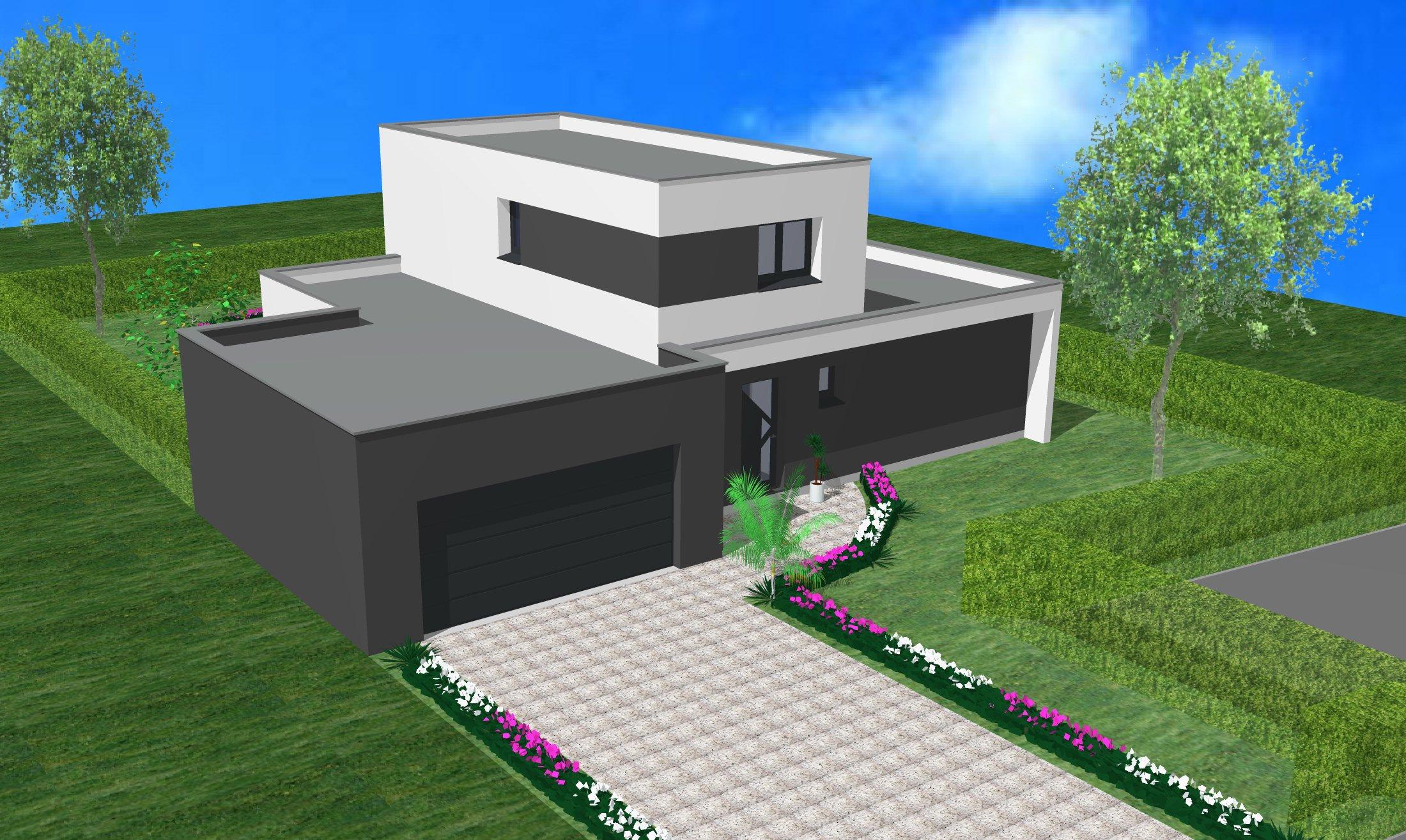 Maisons + Terrains du constructeur CREAGES • 130 m² • UFFHEIM