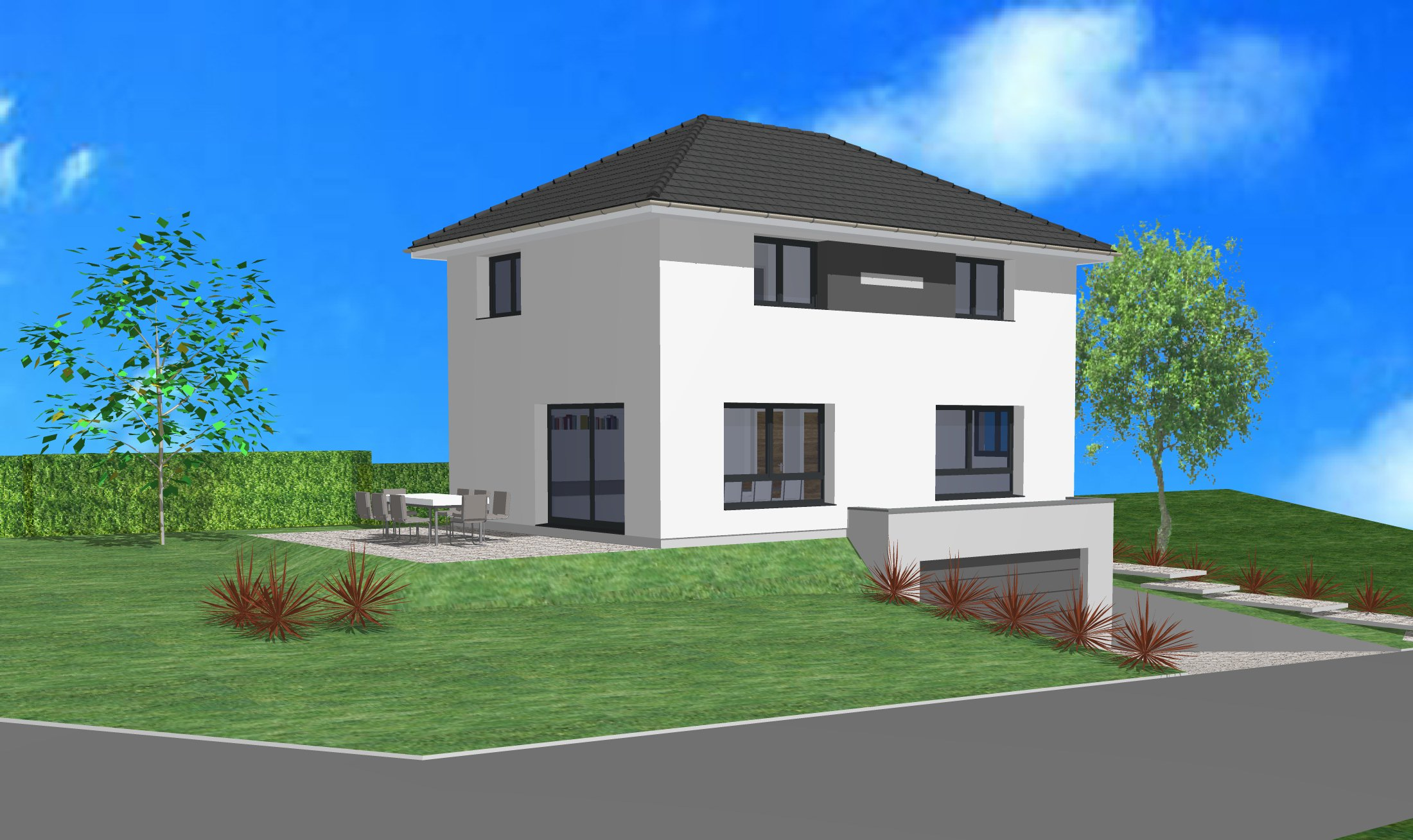 Maisons + Terrains du constructeur CREAGES • 100 m² • UFFHEIM