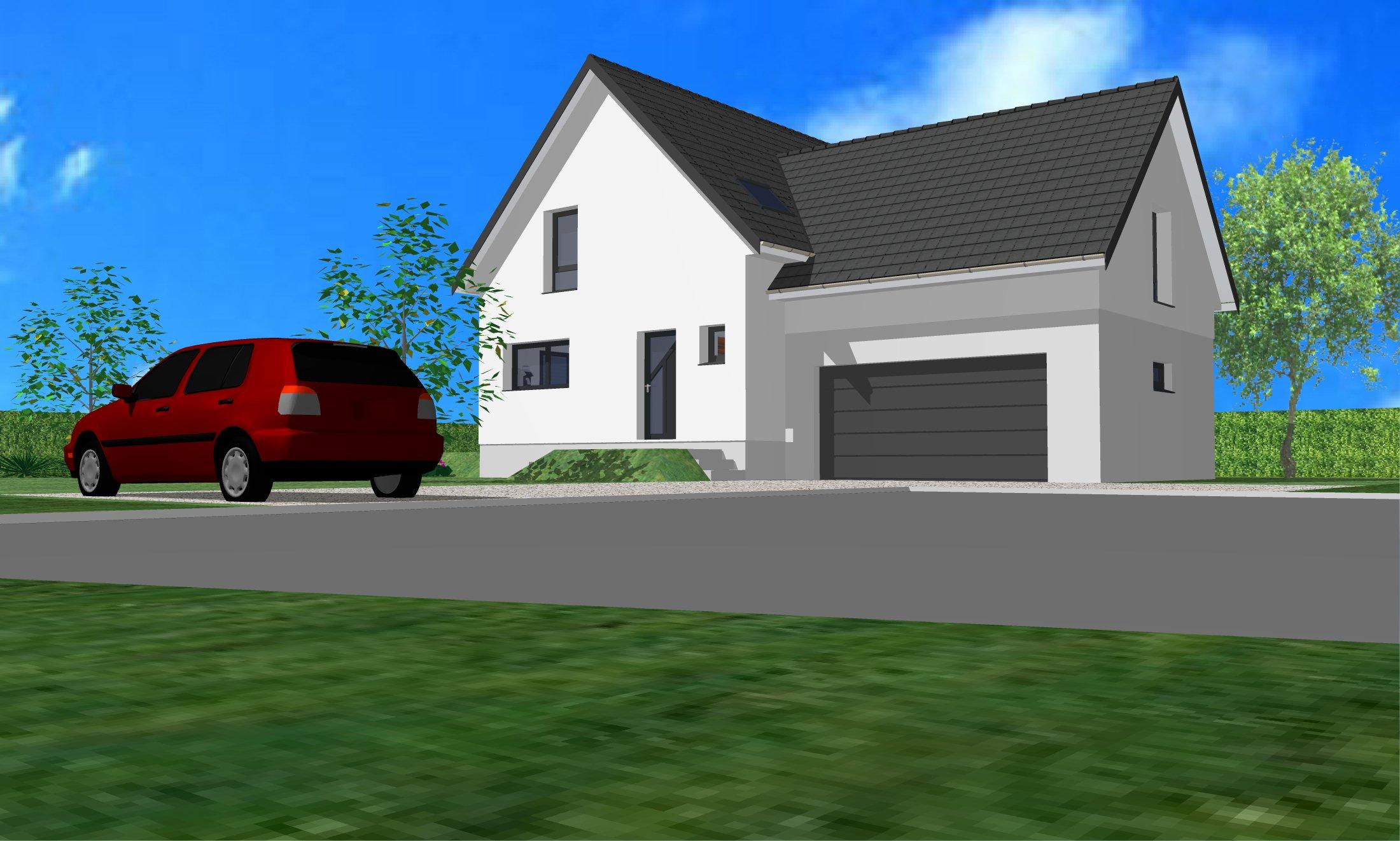 Maisons + Terrains du constructeur CREAGES • 130 m² • KEMBS LOECHLE