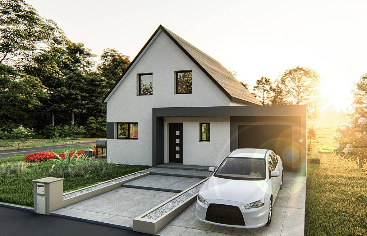 Maisons du constructeur SOCIETE MAISONS HANAU • 97 m² • NIEDERMODERN