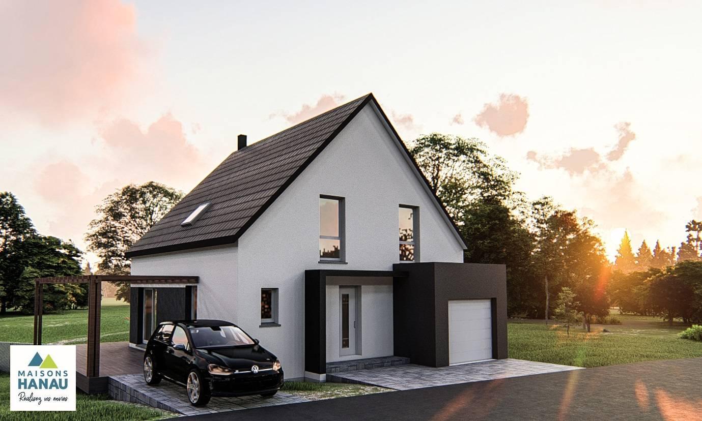 Maisons du constructeur SOCIETE MAISONS HANAU • 100 m² • SESSENHEIM