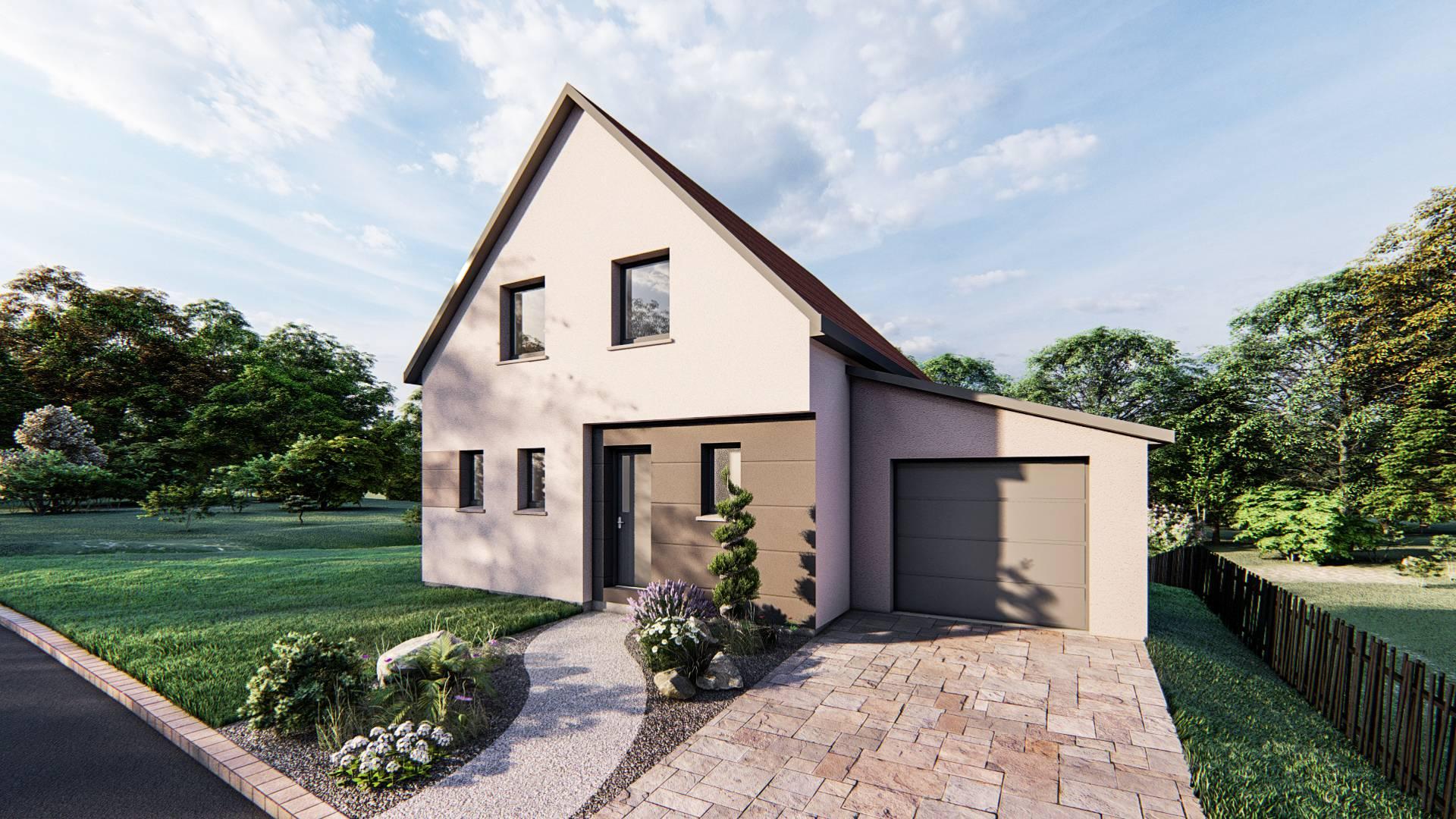Maisons du constructeur SOCIETE MAISONS HANAU • 90 m² • MARMOUTIER