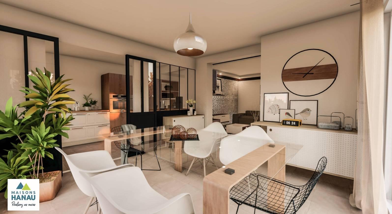 Maisons du constructeur SOCIETE MAISONS HANAU • 120 m² • NIEDERSCHAEFFOLSHEIM