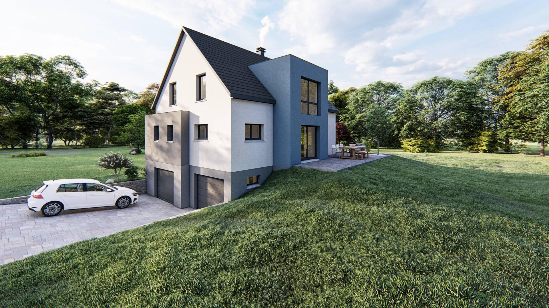 Maisons du constructeur SOCIETE MAISONS HANAU • 105 m² • WESTHOUSE MARMOUTIER