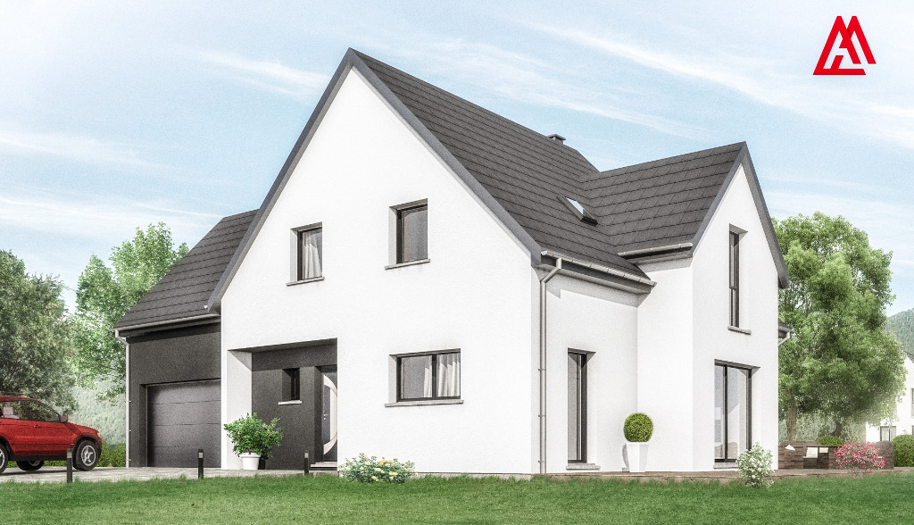 Maisons + Terrains du constructeur LES MAISONS ARLOGIS • 150 m² • UFFHEIM