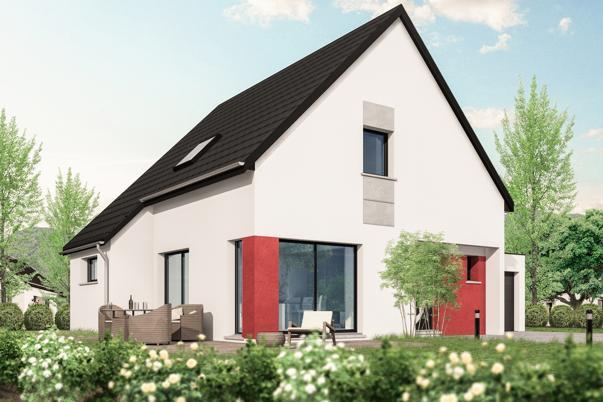 Maisons + Terrains du constructeur LES MAISONS ARLOGIS • 130 m² • OBERDORF