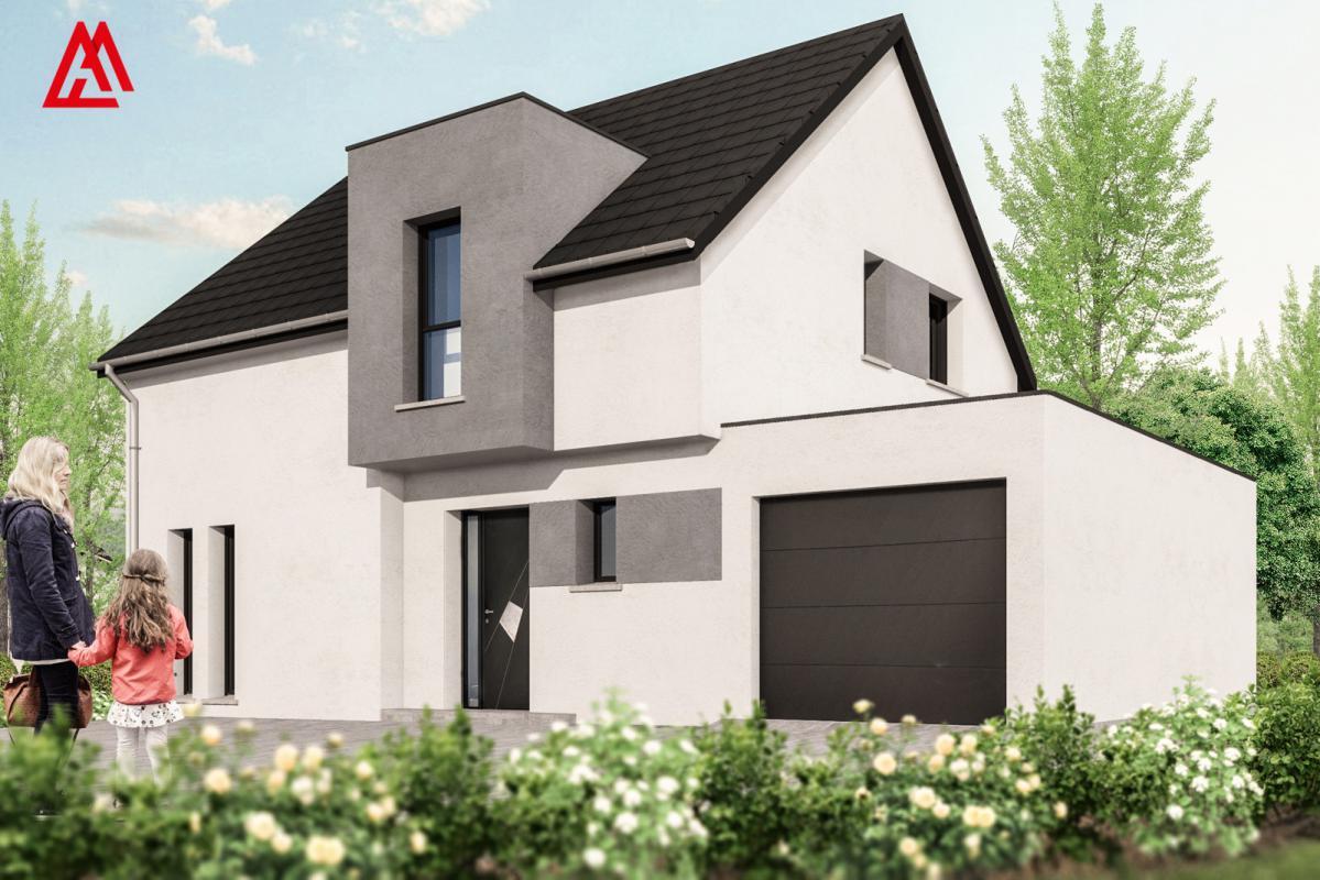 Maisons + Terrains du constructeur MAISONS ARLOGIS • 100 m² • ZILLISHEIM