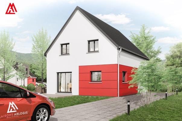 Maisons + Terrains du constructeur MAISONS ARLOGIS • 100 m² • BILZHEIM