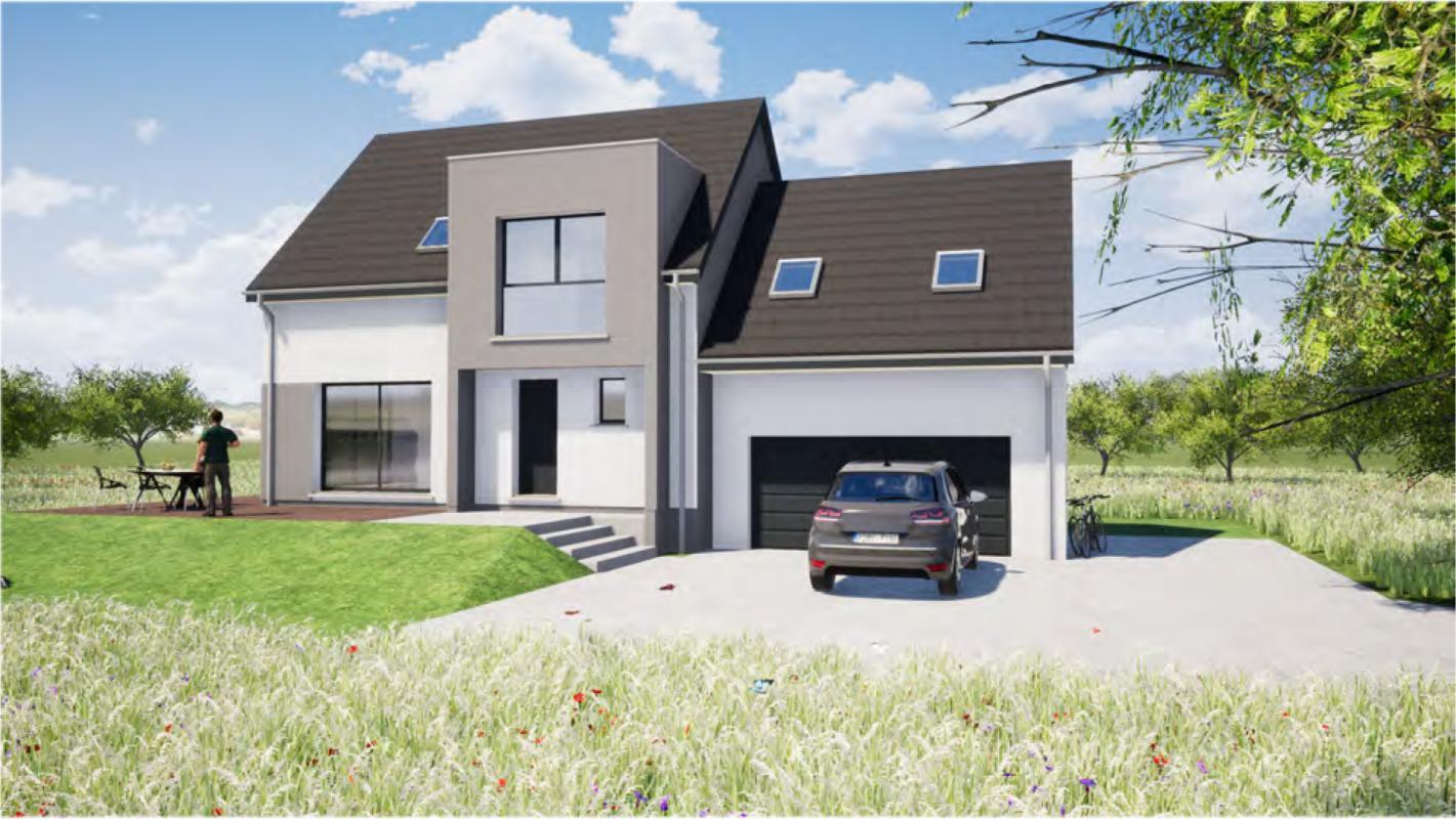 Maisons + Terrains du constructeur MAISONS ARLOGIS • 100 m² • ASPACH LE HAUT