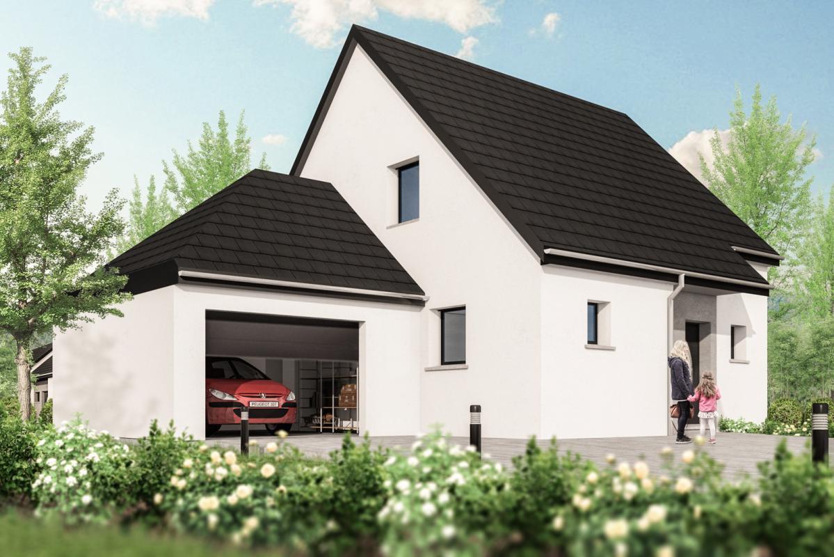 Maisons + Terrains du constructeur MAISONS ARLOGIS • 120 m² • UFFHEIM