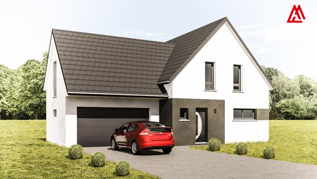 Maisons + Terrains du constructeur MAISONS ARLOGIS • 140 m² • SIERENTZ