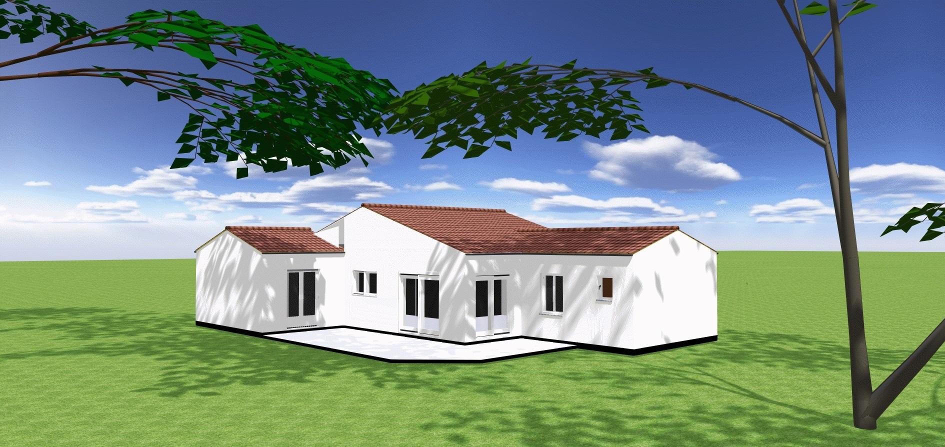 Maisons + Terrains du constructeur ORCA • 91 m² • ROYAN