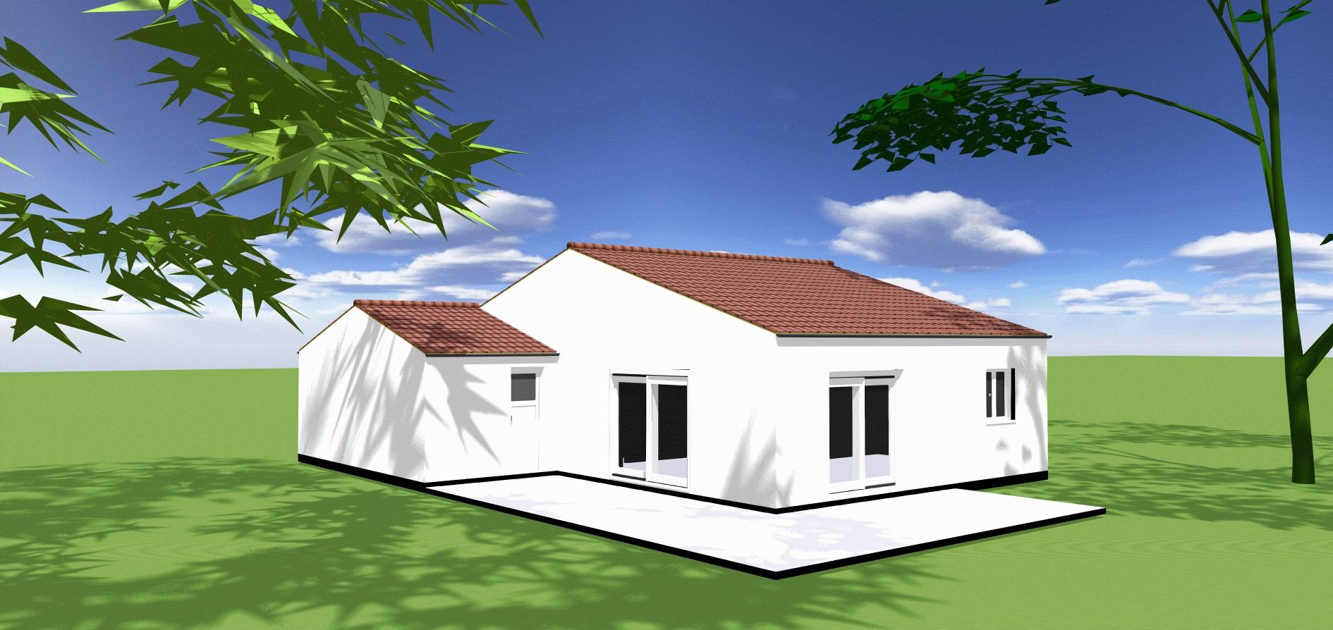 Maisons + Terrains du constructeur ORCA • 82 m² • ROYAN