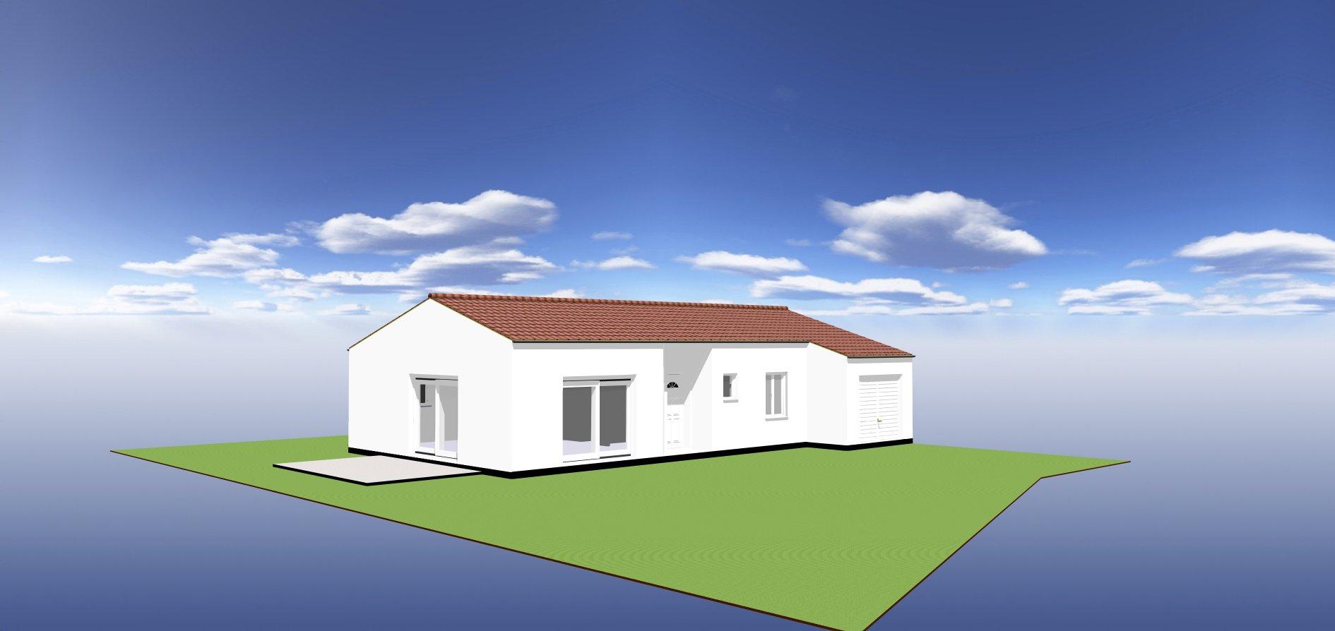 Maisons du constructeur ORCA • 87 m² • ARVERT