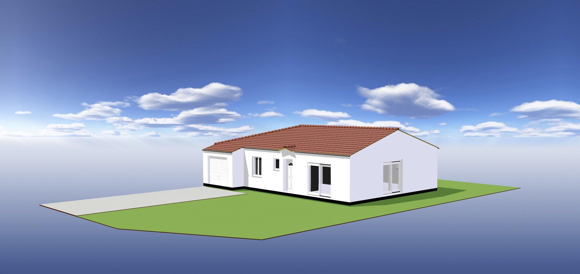 Maisons du constructeur ORCA • 88 m² • SAINT PALAIS SUR MER