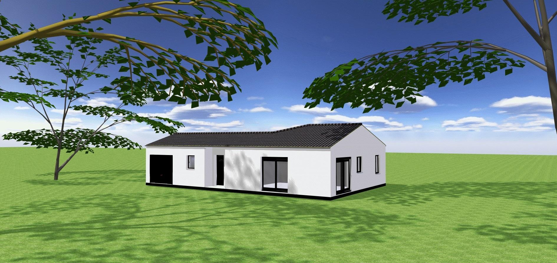Maisons du constructeur ORCA • 85 m² • SAINT PALAIS SUR MER