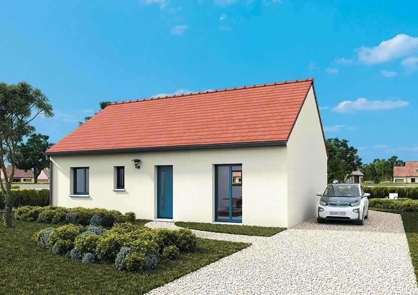 Maisons + Terrains du constructeur MAISONS FRANCE CONFORT • 75 m² • ORLEANS