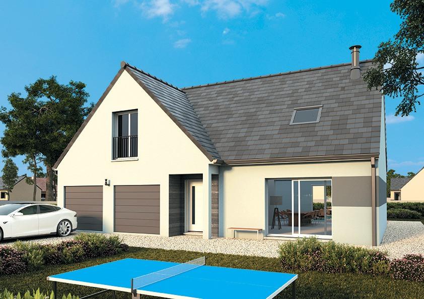 Maisons + Terrains du constructeur MAISONS FRANCE CONFORT • 125 m² • NEUVILLE AUX BOIS