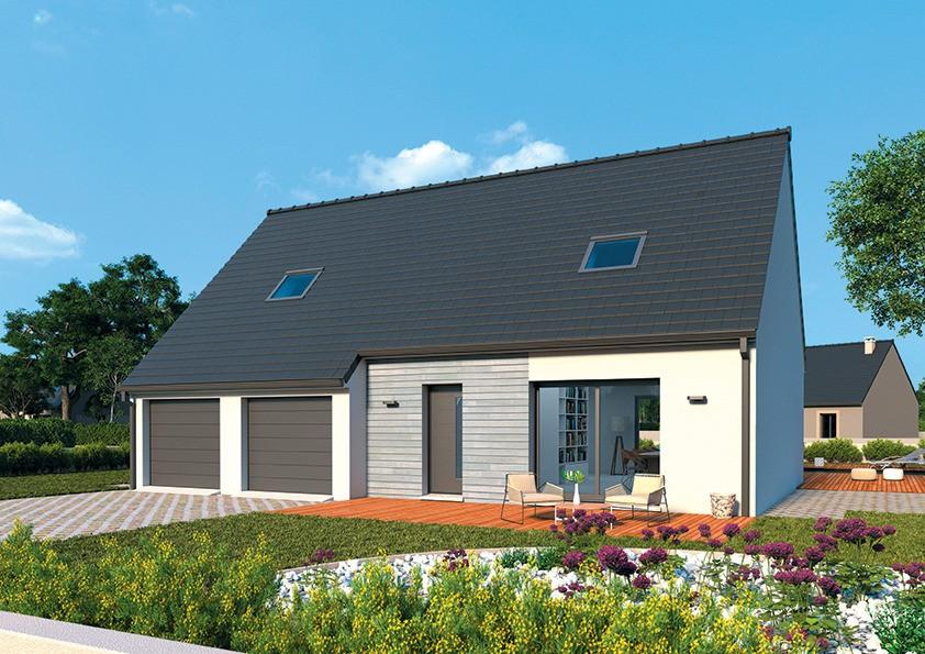 Maisons + Terrains du constructeur MAISONS FRANCE CONFORT • 95 m² • NEUVILLE AUX BOIS