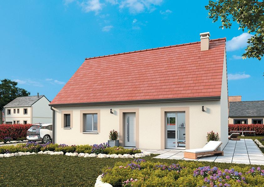 Maisons + Terrains du constructeur MAISONS FRANCE CONFORT • 95 m² • CHATEAUNEUF SUR LOIRE