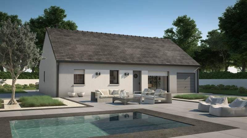 Maisons + Terrains du constructeur MAISONS FRANCE CONFORT • 93 m² • CLERY SAINT ANDRE