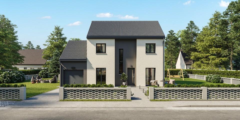 Maisons + Terrains du constructeur MAISONS FRANCE CONFORT • 105 m² • MORTEAU