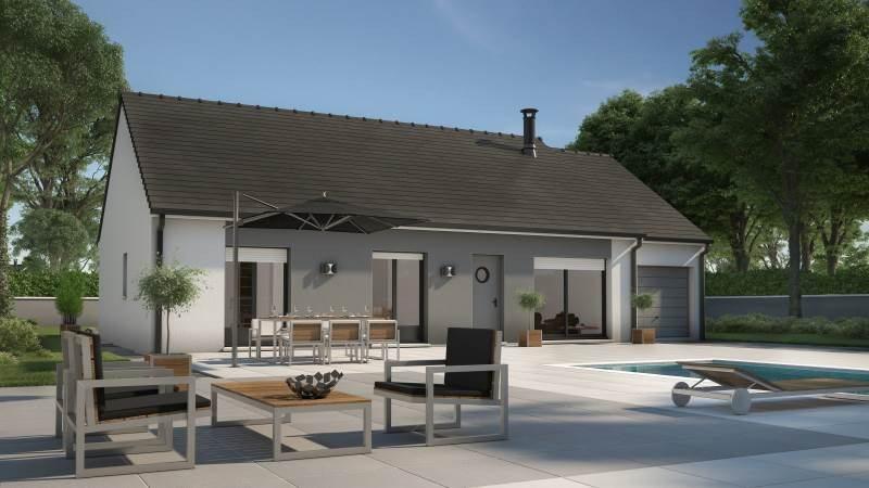 Maisons + Terrains du constructeur MAISONS FRANCE CONFORT • 73 m² • DEVECEY