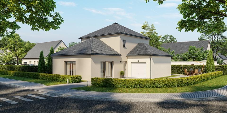 Maisons + Terrains du constructeur MAISONS FRANCE CONFORT • 120 m² • POUILLEY LES VIGNES